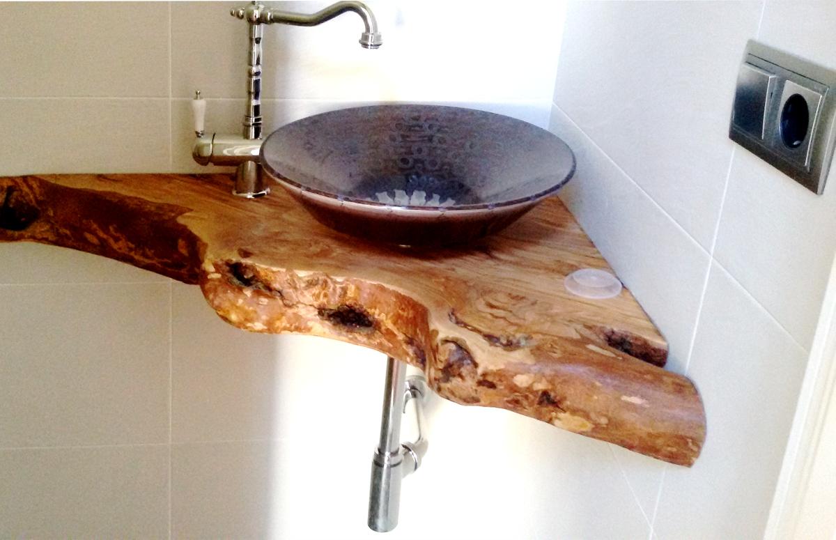Encimeras de ba o for Encimeras de madera para cocinas