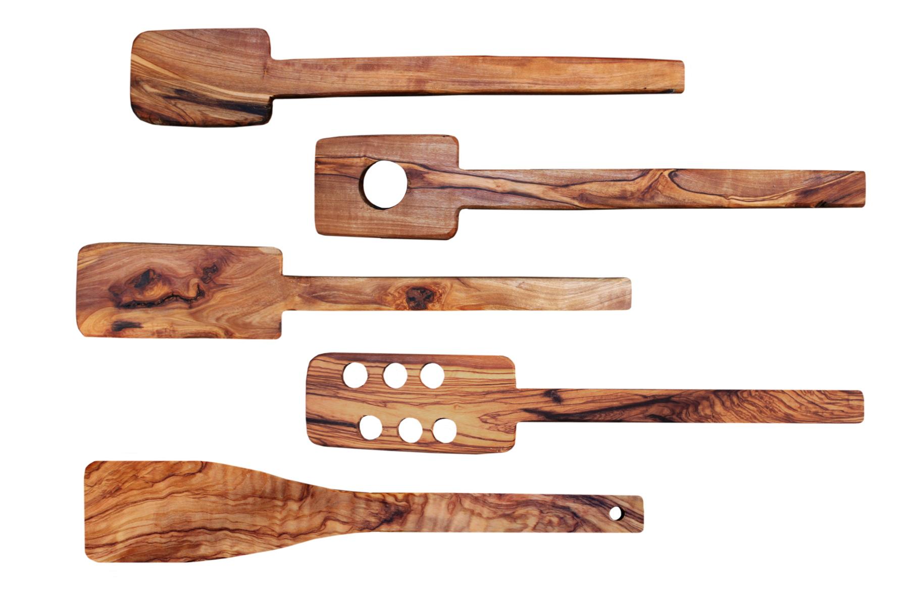 Cucharas de madera de olivo - Propiedades de la madera ...