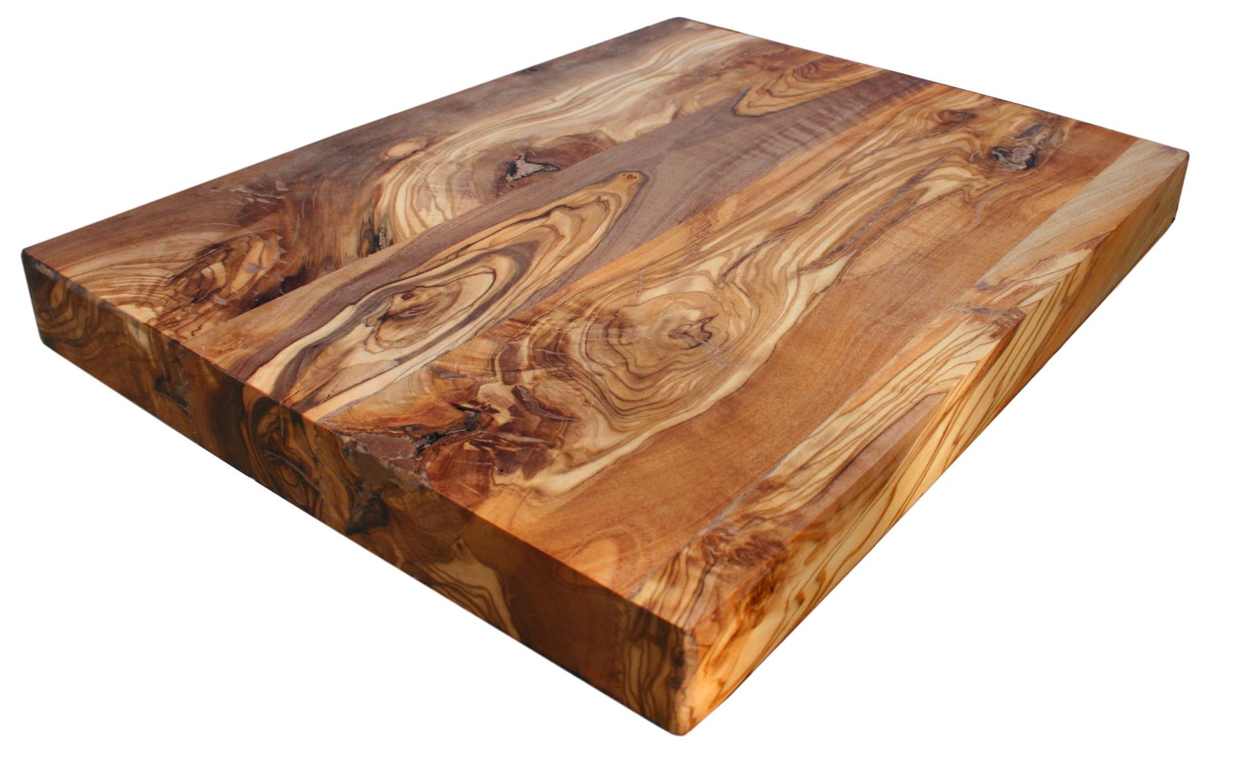 de cocina de madera de olivo