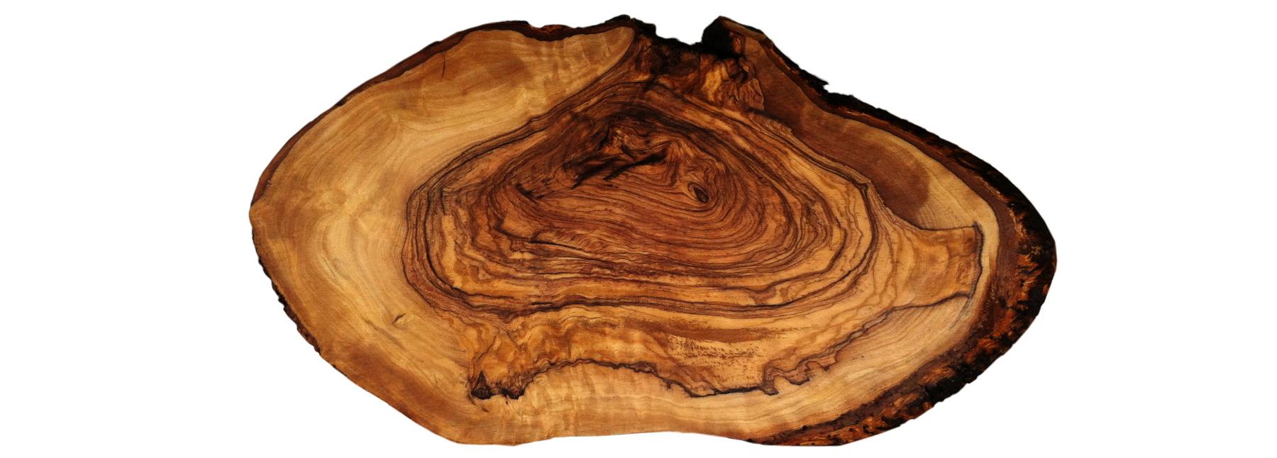 disco de madera tablero de mesa aprox Disco de árbol 80 x 50 x 5 cm