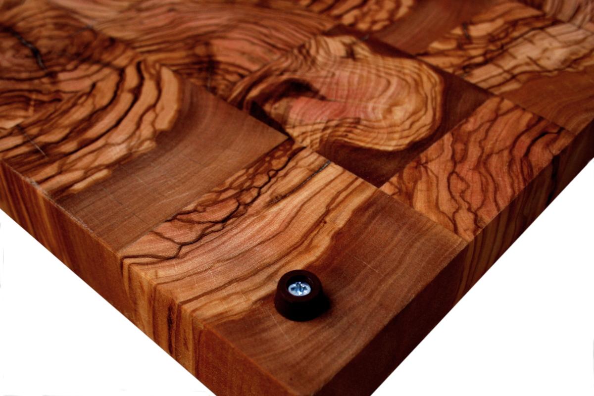 Tablas de cocina de madera de olivo
