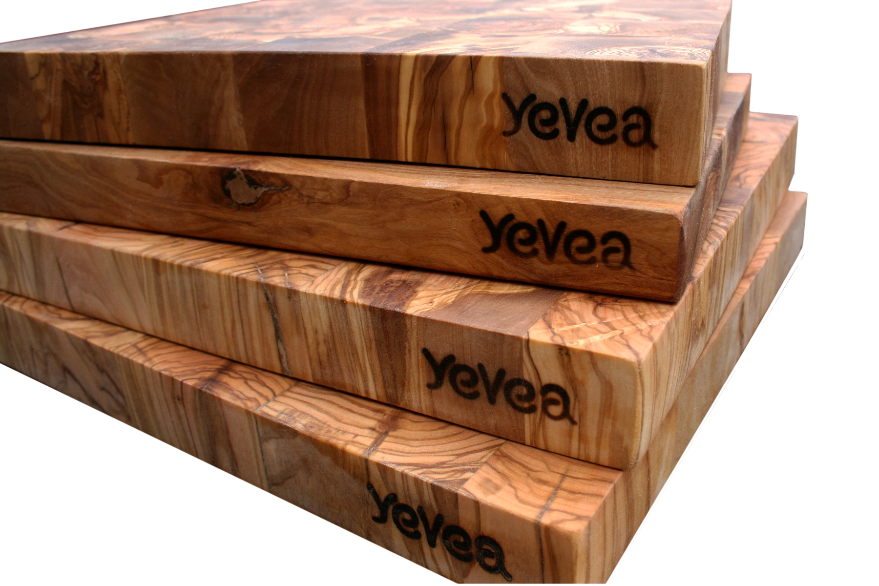 Tablas de cocina de madera de olivo for Cortar madera con radial