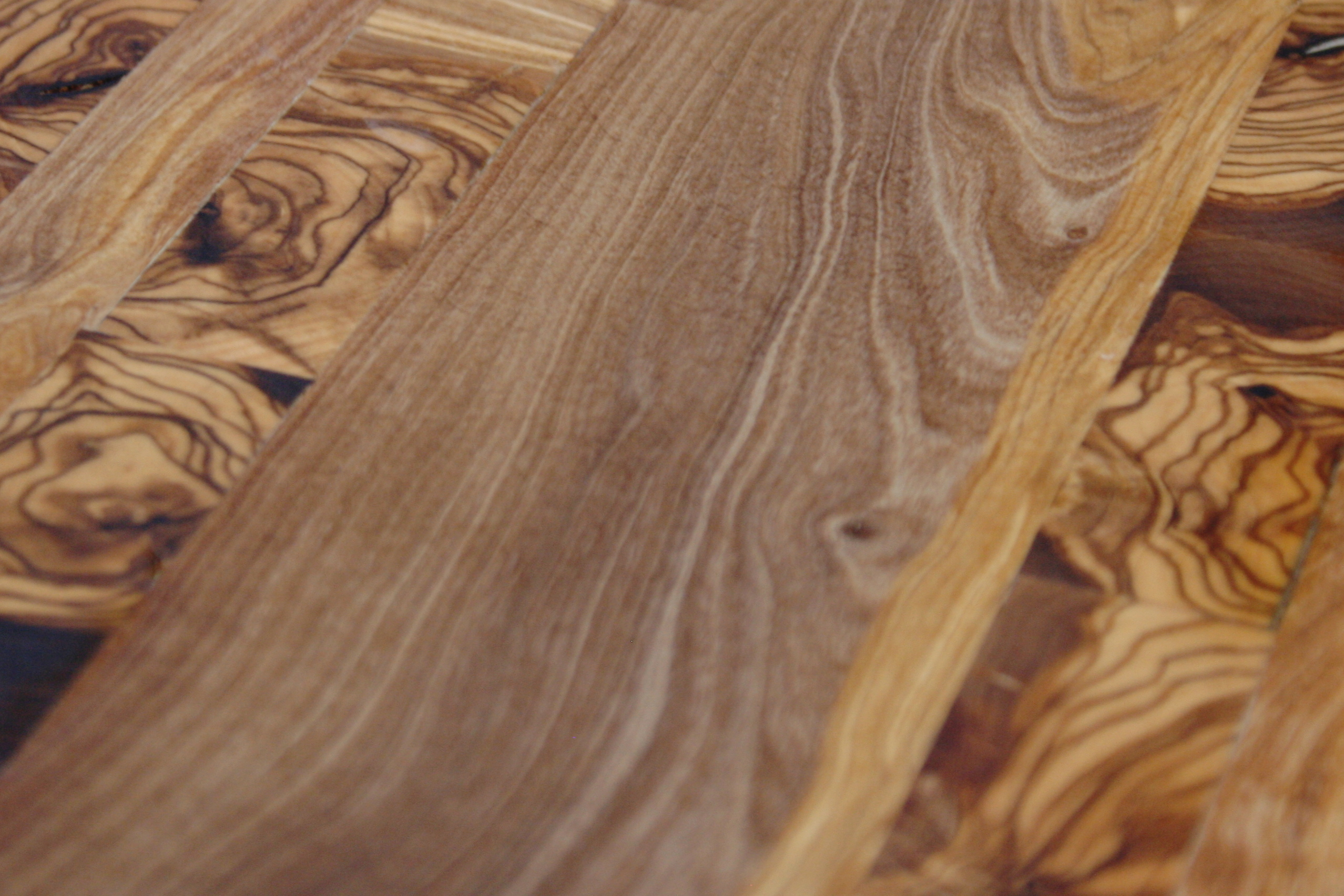 Trabajos en madera de olivo