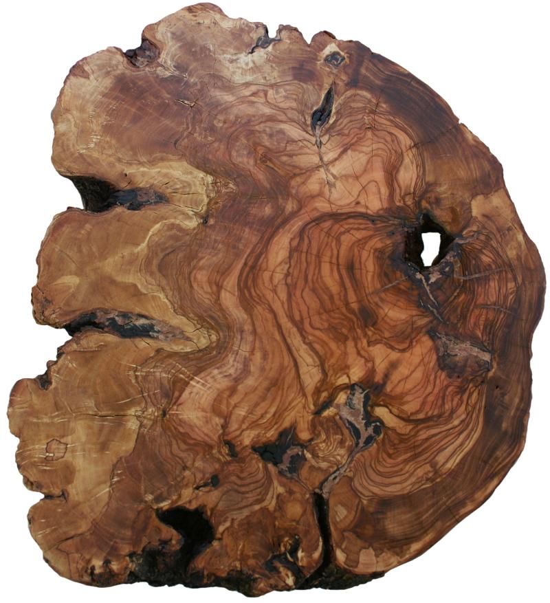 Mesa rustica tronco for Vetas en la madera