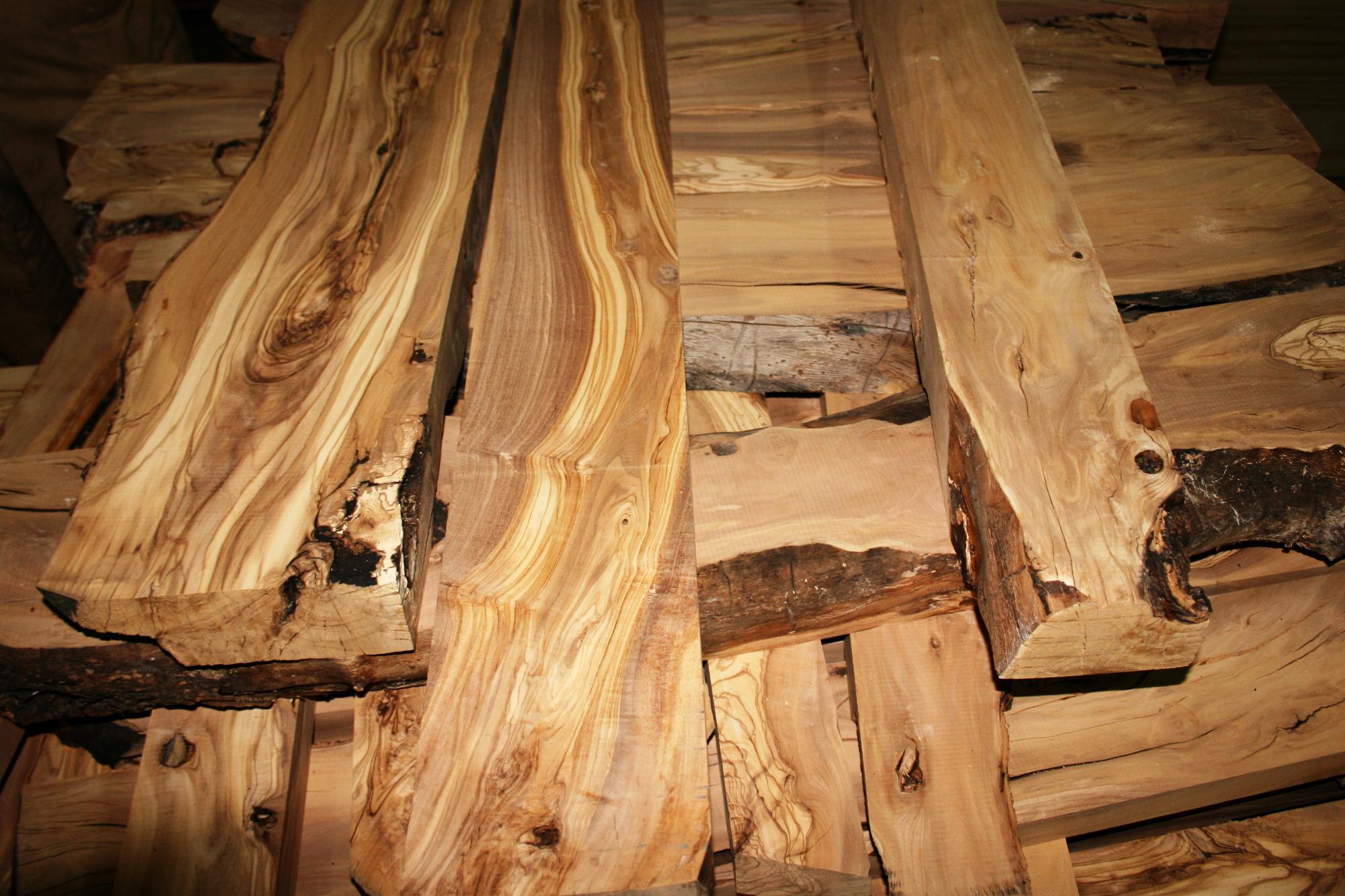 Venta de madera de olivo - Tablones de roble ...