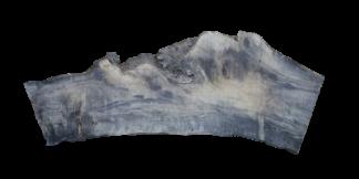 Tablón de madera de olivo crudo seco
