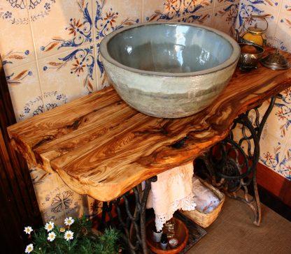 encimera de baño con lavabo
