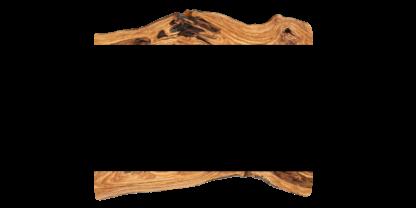 espejo madera tablon de olivo