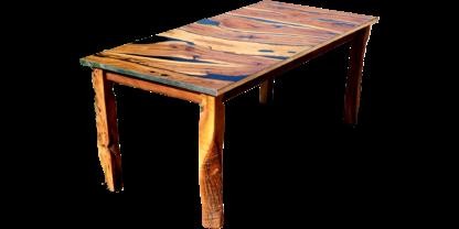 mesa de madera de olivo