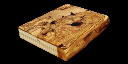 panelado de madera de olivo